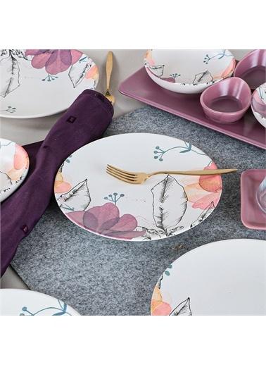 Keramika Lilia Kahvaltı Takımı 21 Parça 4 Kişilik - 19176 Lila